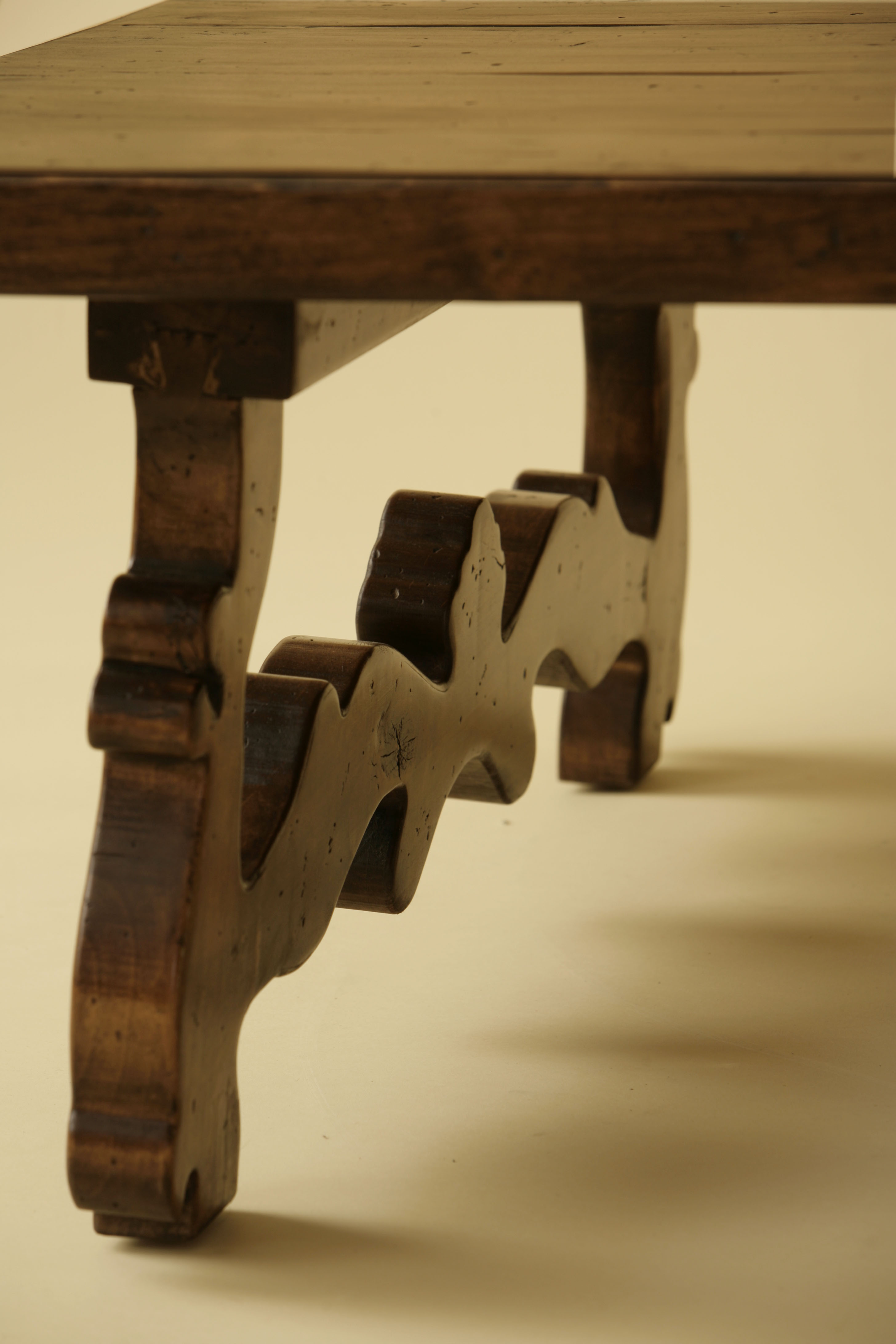 French Trestle Coffee Table