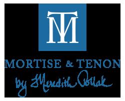 Mortise Tenon Footer Logo